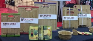 bamboo cutting boards with color trim real nice
