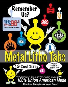 metal tabs