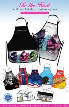 sublimated aprons